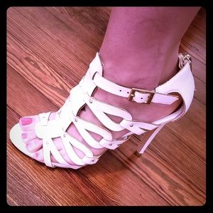 White Dollhouse heels